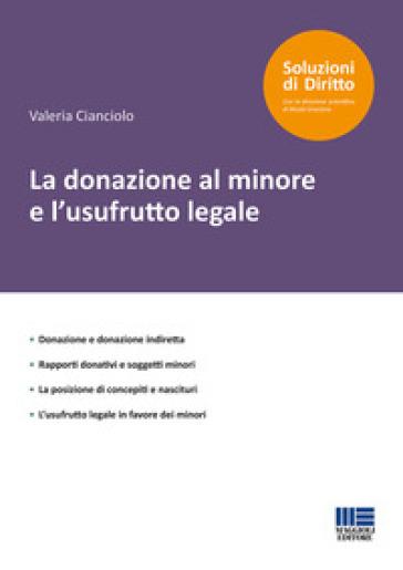 La donazione al minore e l'usufrutto legale - Valeria Cianciolo | Rochesterscifianimecon.com