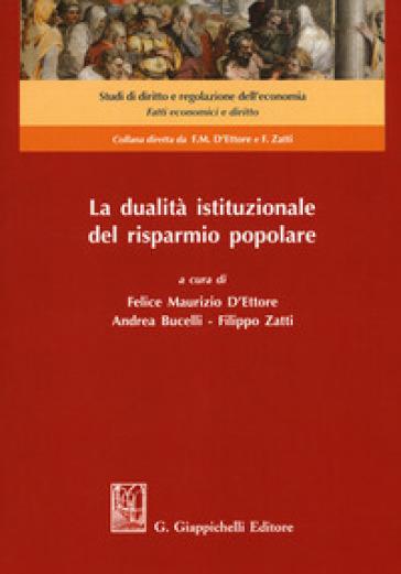 La dualità istituzionale del risparmio popolare - F. M. D'Ettore   Rochesterscifianimecon.com