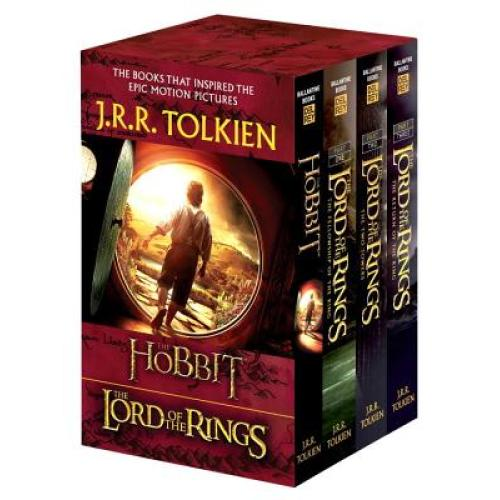 J.R.R. Tolkien 4-Book Boxed Set: The Hobbit and the Lord of the Rings (Movie Tie