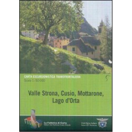 Valle Strona, Cusio, Mottarone. Lago d'Orta
