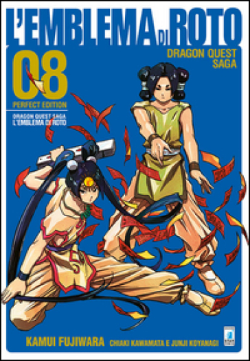 L'emblema di Roto. Perfect edition. Dragon quest saga. 8. - Kamui Fujiwara |