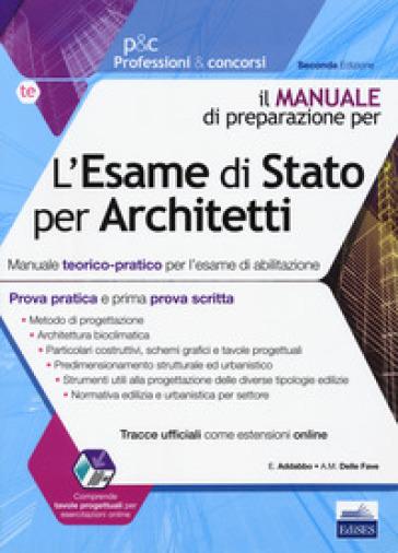 L 39 esame di stato per architetti manuale teorico pratico for Architetti on line gratis
