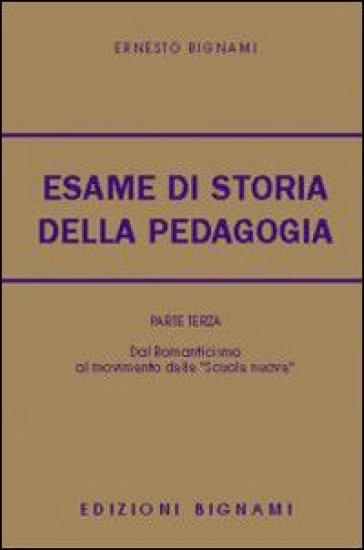 L'esame di storia della pedagogia. 1. - Ernesto Bignami | Kritjur.org