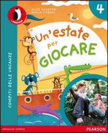 Un'estate per giocare. Con espansione online. Per la Scuola elementare. 4. - Vincenzi | Rochesterscifianimecon.com