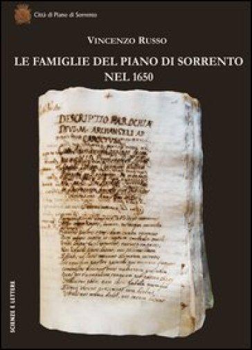 Le famiglie del Piano di Sorrento nel 1650 - Vincenzo Russo |