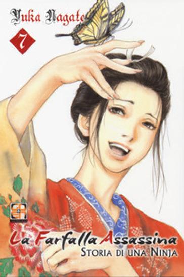 La farfalla assassina. Storia di una ninja. 7. - Yuka Nagate | Jonathanterrington.com
