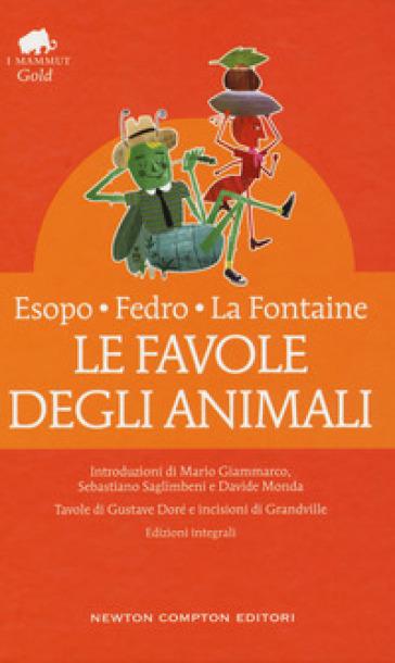 Le favole degli animali. Testo latino e greco a fronte. Ediz. integrale - Esopo | Rochesterscifianimecon.com
