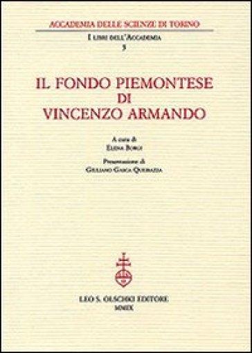 Il fondo piemontese di Vincenzo Armando - E. Borgi | Rochesterscifianimecon.com
