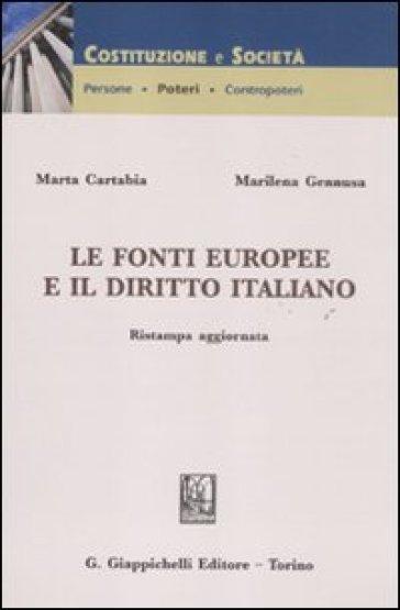 Le fonti europee e il diritto italiano - Marta Cartabia |