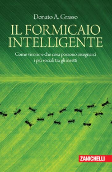 Il formicaio intelligente. Come vivono e che cosa possono insegnarci i più sociali tra gli insetti - Donato A. Grasso |