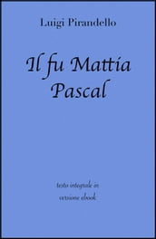 Il fu Mattia Pascal di Luigi Pirandello in ebook