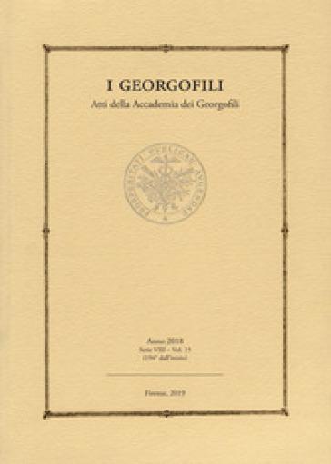 I georgofili. Atti della Accademia dei Georgofili (2018). 15.