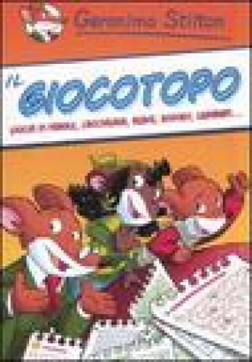 Il giocotopo giochi di parole cruciverba rebus sudoku for Cruciverba geronimo stilton