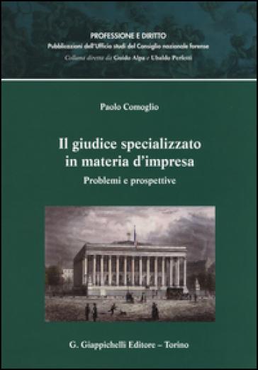 Il giudice specializzato in materia d'impresa. Problemi e prospettive - Paolo Comoglio | Ericsfund.org