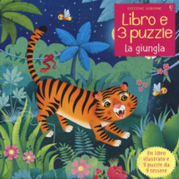 La giungla. Ediz. a colori. Con puzzle - Sam Taplin   Thecosgala.com