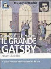 Il grande Gatsby letto da Claudio Santamaria. Audiolibro. CD Audio formato MP3. Ediz. integrale