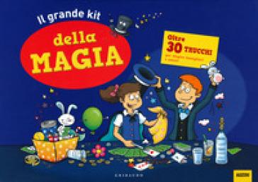 Il grande kit della magia. Ediz. a colori. Ediz. a spirale. Con gadget - Jérome Sauloup | Thecosgala.com