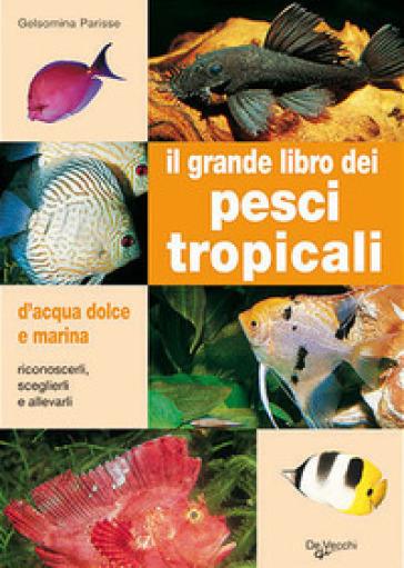 Il grande libro dei pesci tropicali. D'acqua dolce e marina - Gelsomina Parisse   Rochesterscifianimecon.com