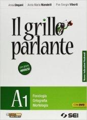 Il grillo parlante. Vol. A1-A2-B-C-S. Con prove INVALSI. Con DVD. Per la Scuola media (4 vol.)