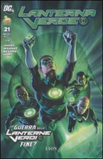 La guerra delle lanterne verdi fine? Lanterna verde. 21.