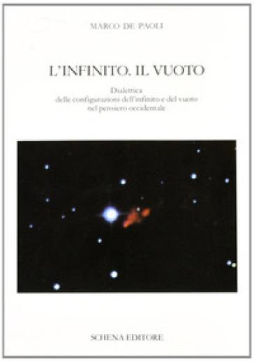 L'infinito. Il vuoto. Dialettica delle configurazioni dell'infinito e del vuoto nel pensiero occidentale - Marco De Paoli |