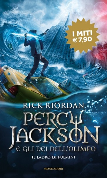 Il ladro di fulmini. Percy Jackson e gli dei dell'Olimpo. 1. - Rick Riordan | Jonathanterrington.com
