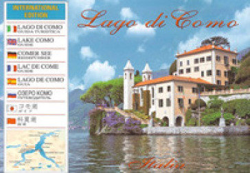 Il lago di Como. Guida international. Ediz. multilingue - Attilio Sampietro |