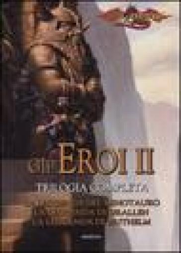 La leggenda del minotauro-La leggenda di Grallen-La leggenda di Brithelm. Gli eroi. Dragonlance. 2. - Richard A. Knaak | Rochesterscifianimecon.com