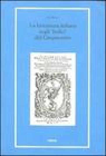 La letteratura italiana negli «indici» del Cinquecento - Ugo Rozzo |