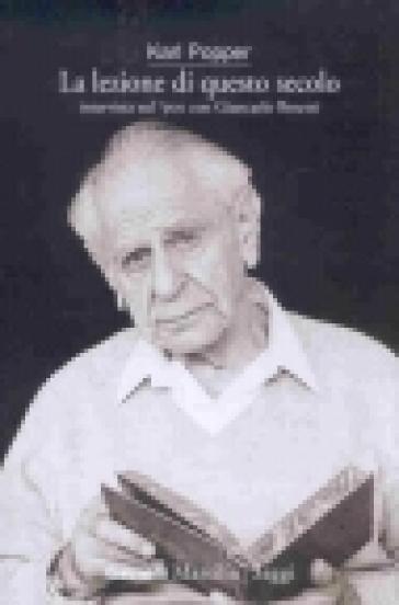 La lezione di questo secolo. Intervista sul '900 con Giancarlo Bosetti - Karl R. Popper | Jonathanterrington.com