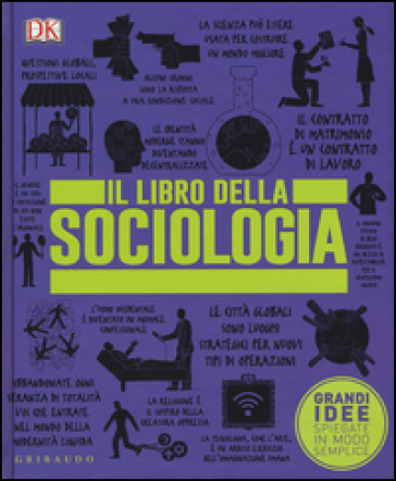 Il libro della sociologia. Grandi idee spiegate in modo semplice - DOMINICI M. | Thecosgala.com