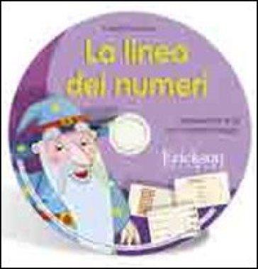 La linea dei numeri. Aritmetica fino al 20 con il metodo analogico. CD-ROM - Camillo Bortolato |