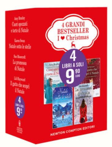 I love Christmas: Cuori spezzati e torte di Natale-Natale sotto le stelle-La promessa di Natale-Il gatto che scoprì il Natale - Amy Bratley pdf epub
