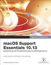 macOS Support Essentials 10.13 - Apple Pro Training Series