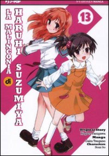 La malinconia di Haruhi Suzumiya. 13. - Nagaru Tanigawa pdf epub