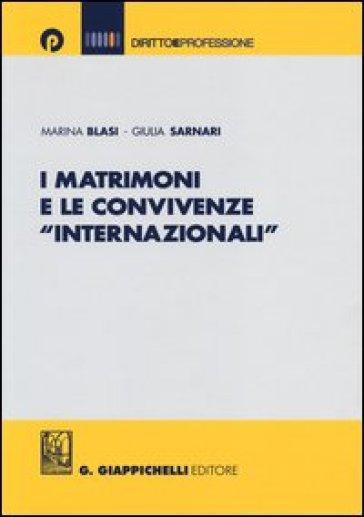 I matrimoni e le convivenze «internazionali» - Marina Blasi   Rochesterscifianimecon.com