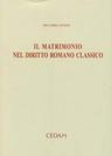 Matrimonio Diritto Romano Simone : Il matrimonio nel diritto romano classico riccardo