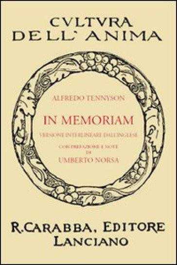 In memoriam. Versione interlineare dall'inglese - Alfred Tennyson | Kritjur.org