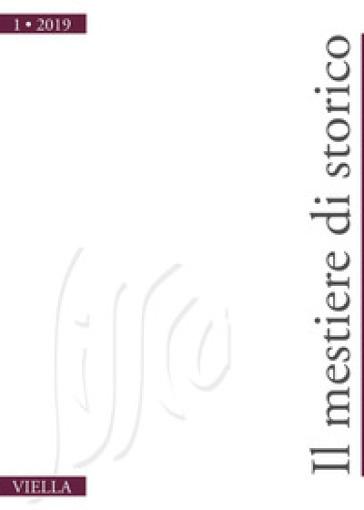 Il mestiere di storico (2019). 1.
