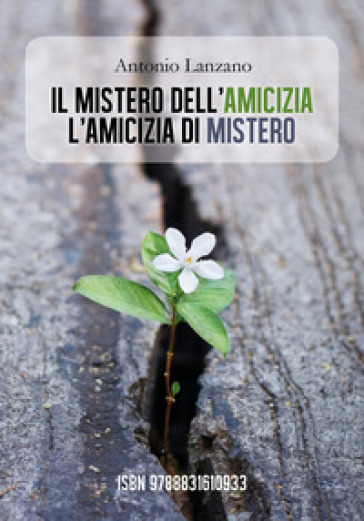 Il mistero dell'amicizia l'amicizia di mistero - Antonio Lanzano | Kritjur.org