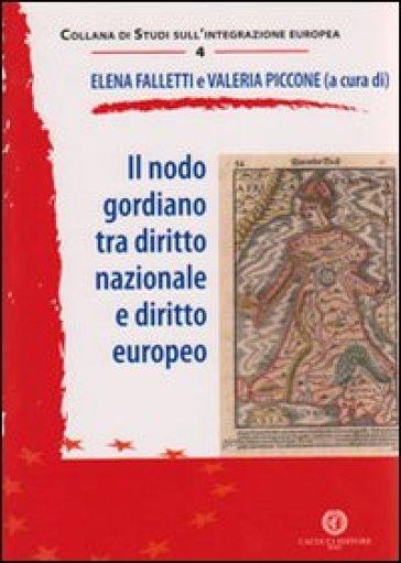 Il nodo gordiano tra diritto nazionale e diritto europeo - E. Falletti   Rochesterscifianimecon.com