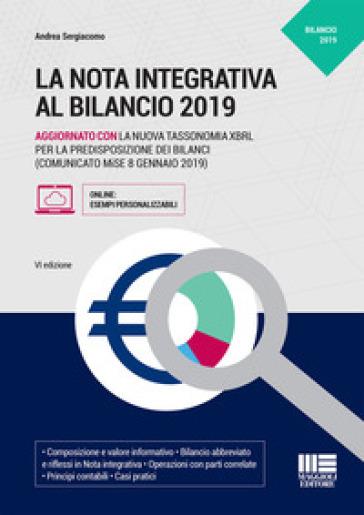 La nota integrativa al bilancio - Andrea Sergiacomo |