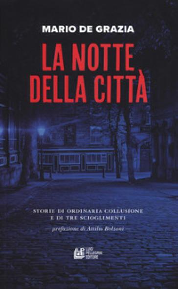 La notte della città. Storie di ordinaria collusione e tre scioglimenti - Mario De Grazia  