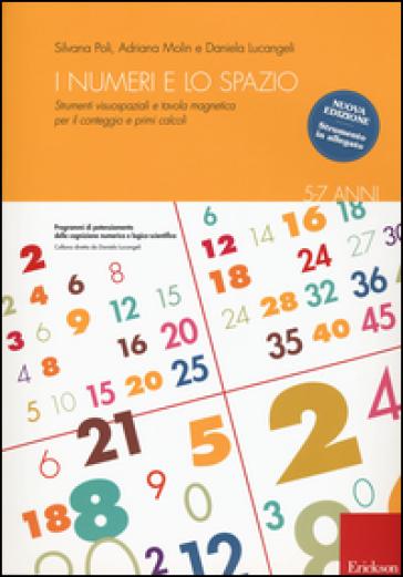 I numeri e lo spazio con la LIM. Strumenti visuospaziali per il conteggio, primi calcoli e tabelline. Con Prodotti vari - Silvana Poli |