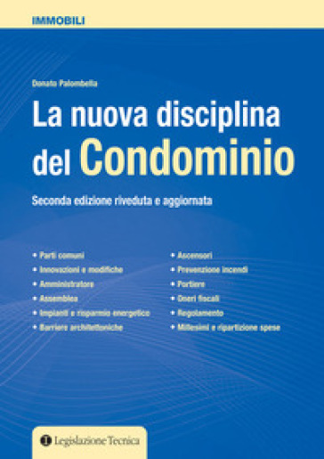 La nuova disciplina del condominio - Donato Palombella | Ericsfund.org