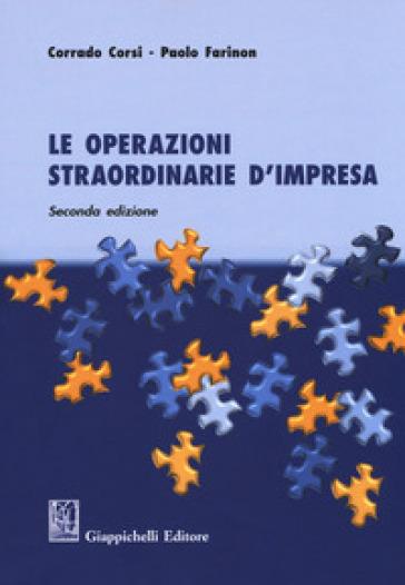 Le operazioni straordinarie d'impresa - Corrado Corsi pdf epub