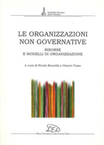 Le organizzazioni non governative. Risorse e modelli di organizzazione - N. Boccella | Kritjur.org