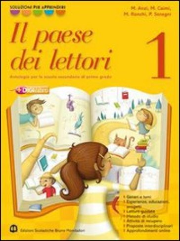 Il paese dei lettori. Con Letteratura italiana. Per la Scuola media. Con espansione online. 2.