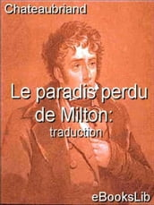 Le paradis perdu de Milton : traduction