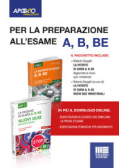 La patente di guida A, B, BE . Kit manuale + quiz. Con Contenuto digitale per download e accesso on line